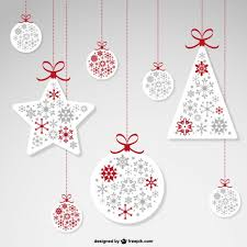 hanging ornaments vector free vector in ai