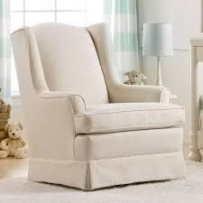 Upholstered Glider With Ottoman Best Chairs Sutton Gliding Ottoman Linen Babies R Us