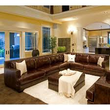 Brown Leather Sofa And Loveseat Furniture Add Luxury To Your Home With Full Grain Leather