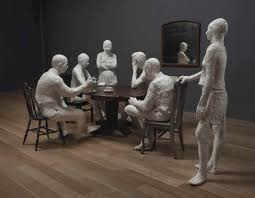 george segal 1924 2000 the dinner table 1960s sculptures