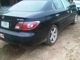 lexus used es300 clean sharp naija used 03 lexus es300 890k only autos nigeria