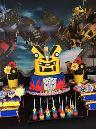 optimus prime birthday party best 25 transformers birthday ideas on