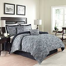 city milan blue comforter set king home kitchen