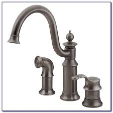 moen brantford kitchen faucet rubbed bronze moen brantford rubbed bronze kitchen faucet faucets home moen