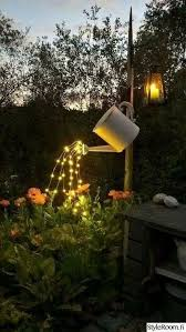 Solar Lights For Patio Such A Brilliant Idea Glowing Watering Can Made With