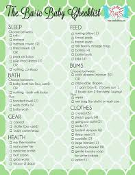 baby shower to do list adorable