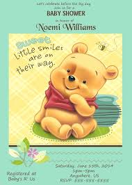 winnie the pooh baby shower invitations pooh birthday invitations baby the pooh baby shower invitation