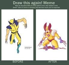 Wolverine Picture Meme - wolverine before after meme by shibuya401 on deviantart