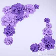 paper flower 2018 set weddings paper flower backdrops combination foam flowers