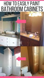 what paint is best for bathroom cabinets how to paint bathroom cabinets why you shouldn t sand your