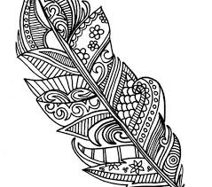 feather pictures color 28 feather coloring pages images