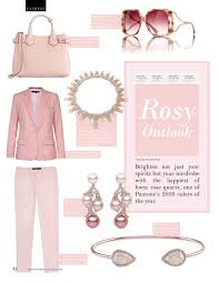 rosy outlook fashion inspired by pantone u0027s color of the year