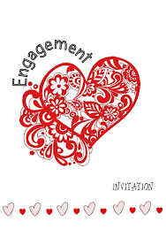 free printable engagement invitations unique designs to download now