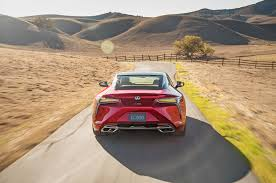 lexus lf lc gt vgt 2018 lexus lc 500 packs 471 hp goes on sale next may
