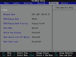reset bios notebook qbex disable legacy boot mode and enable uefi