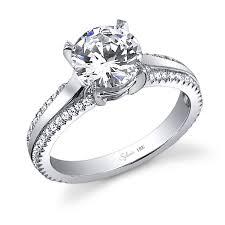 engagement rings unique modern brilliant unique engagement ring