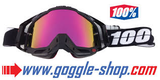 100 percent motocross goggles replacement mirror lens 100 strata accuri racecraft goggles