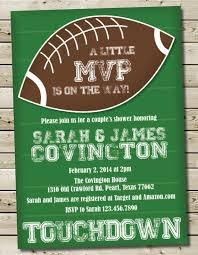 football baby shower charming football baby shower invitations as an ideas about