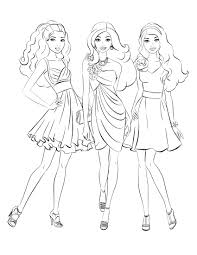 coloring pages games coloring pages kids barbie coloring pages barbie printable