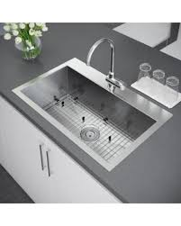 Top Mounted Kitchen Sinks by Spring Special Exclusive Heritage 16 Gauge 33 X 22 Inch Single