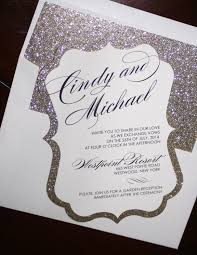Bling Wedding Invitations Good And Simple Formal Wedding Invitations And Silver Elegant