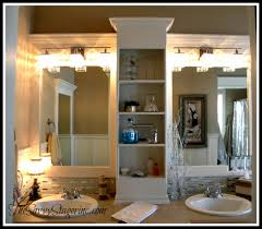 Diy Mirror Frame Bathroom How To Frame A Builder Grade Mirror A Breakdown Of The Details