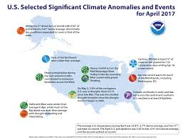us cover map noaa u s had 2nd wettest 11th warmest april on record national
