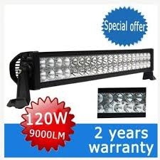 24 inch led light bar offroad ediors 24 inch led light bar flood spot combo beam 3w cree led 120w
