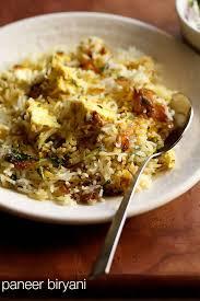 biryani cuisine paneer biryani recipe spiced delicious dum cooked paneer