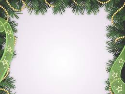 2017 happy christmas holidays ppt backgrounds christmas green