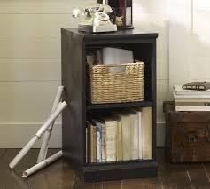 Single Shelf Bookcase Printer U0027s Bookcase Pottery Barn