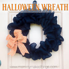 halloween wreath mommy makes things