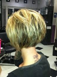 curly blunt cut short hair cuts back view 20 pretty bob hairstyles for short hair popular haircuts