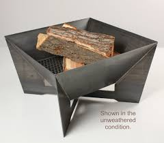 Steel Firepit The Geometric Firepit Search Outdoor Entertaining