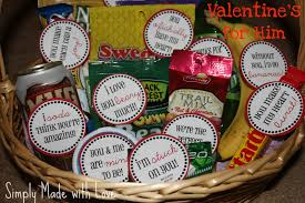simply made with love valentine u0027s for him u0026 free printable