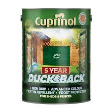 cuprinol ducksback paint