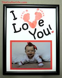 baby footprint ideas baby footprint frames