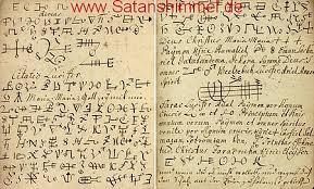 zauberspr che latein schwarze magie dämon geist ritual beschwörungsformeln