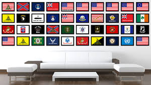 us navy seal military flag patriotic office wall home decor