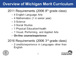 high school health class online michigan high school graduation requirements online learning