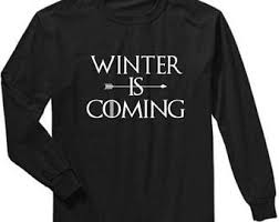 winter is coming etsy