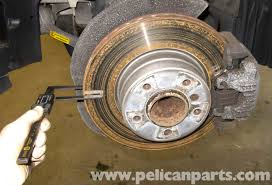 bmw rotors bmw e60 5 series brake rotor specification checking 2003 2010