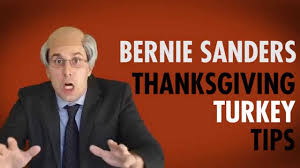 sign language thanksgiving bernie sanders impression thanksgiving turkey tips youtube