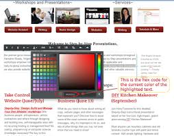 change text color weebly u0027s new editor step by step