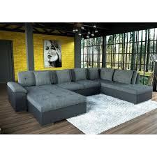 canapé tendance canapé d angle smile en gris et noir tendance design achat