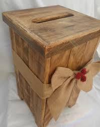 Wedding Wishing Box Large Wooden Post Box Wishing Well English Rose Stationery