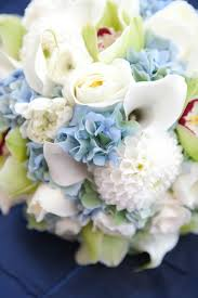 wedding flowers blue and white ross meredith s blue and green wedding flowers at sequoia