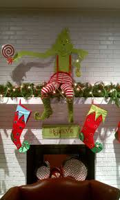 Outdoor Christmas Ornaments Grinch Stealing Outdoor Christmas Decorations