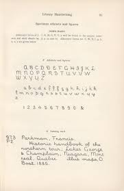D Nealian Handwriting Worksheets University Of South Carolina Libraries Rare Books And Special