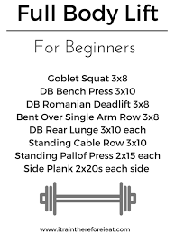 Bench Press For Beginners Workout Wednesday Full Body Lift For Beginners I Train